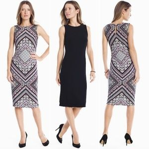 WHBM Reversible Knit Sheath Dress